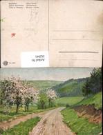 562941,Künstler Ak Baumblüte Bäume Baum - Botanik