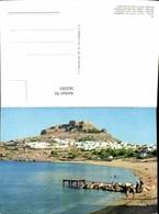 563593,Rhodos Dorf Linde U. Akropolis Greece - Griechenland