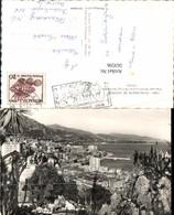 563596,Principaute De Monaco Vue Sur Monte Carlo Le Cap Martin Et L Italie - Ohne Zuordnung