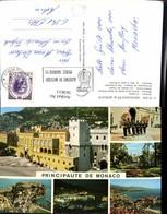 563611,Mehrbild Ak Principaute De Monaco Le Palais Le Port La Nuit Le Rocher - Ohne Zuordnung