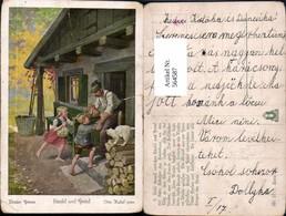564587,tolle AK Märchen Otto Kubel Brüder Grimm Hänsel Und Gretel - Märchen, Sagen & Legenden