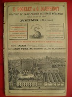 PUB 1894 - Tissus E. Rogelet & G. Dauphinot Reims; Noirot Janson Reims, C. Simonnet Warmeriville 51 - Werbung