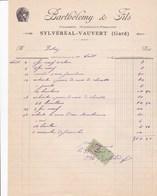 SYLVEREAL VAUVERT GARD BARTHELEMY CHARRONS MARECHAUX FERRANTS ANNEE 1926 - Unclassified