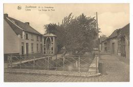 Zoutleeuw O. L. Vrouwbrug Oude Postkaart Carte Postale Ancienne Léau La Vierge Du Pont - Zoutleeuw