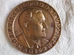 Médaille FRANKLIN D. ROOSEVELT PRESIDENT - USA