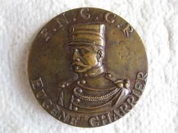 Médaille F.N.G.G.R  Eugène CHARRIER Attribuée à Vilalte 1987 Par Conrad - Army & War