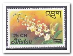 Bhutan 1978, Postfris MNH, Flowers, Overprint - Bhutan