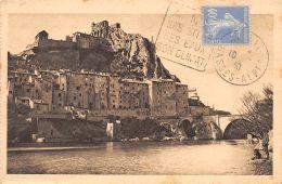 Sisteron (04) - La Durance à Sisteron - Sisteron