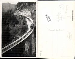 562639,Eisenbahn Lokomotive Zug Mariazellerbahn Wienerbruck Viadukt - Eisenbahnen