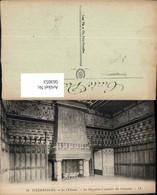 563053,Pierresfonds Le Chateau La Chambre A Coucher Du Seigneur Kamin Ofen Heizung - Ansichtskarten