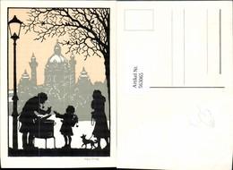 563065,Künstler Ak Wien Kind B. Maroniofen Ofen Heizung - Ansichtskarten