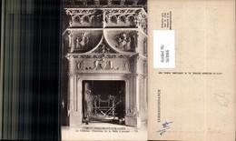 563066,Chaumont-Sur-Loire Le Chateau Cheminee De La Salle A Manger Kamin Ofen Heizung - Ansichtskarten