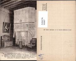 563067,Chaumont-Sur-Loire Le Chateau Kamin Ofen Heizung - Ansichtskarten