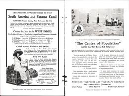 Hamburg American Line / American Telephone And Telegraph Company - Pubblicità 1912 - Pubblicitari