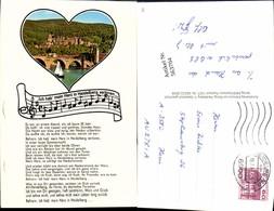 563704,Studentica Studentika Heidelberg Liedtext Ich Hab Mein Herz I. Heidelberg Verl - Schulen