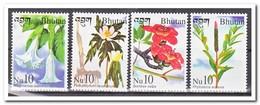 Bhutan 2002, Postfris MNH, Flowers - Bhutan