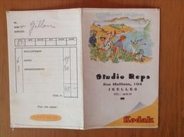 Ancienne Pochette Photo Kodak.Studio Reps.Ixelles - Photographie