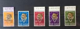 """Sud Kasai - 20C/24C - Leopard - """"Pour Les Rapatriés"""" - 1961 (Voir Photos) - Sud-Kasaï"""