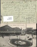 562675,Eisenbahn Lokomotive Zug Orleans La Gare Place Albert I Bahnhof Automobile - Eisenbahnen
