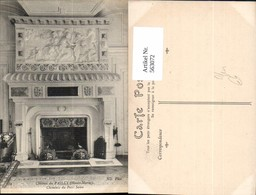 563072,Chateau Du Pailly Haute Marne Cheminee Du Petit Salon Kamin Ofen Heizung - Ansichtskarten