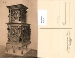 563074,Hamburg Museum Für Kunst U. Gewerbe Schwarz Glasierter Ofen V. Hafner Leubold - Ansichtskarten