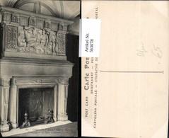 563078,Chateau Du Pailly Haute Marne Cheminee Kamin Ofen Heizung - Ansichtskarten
