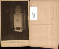 563080,Naumburg A. Saale Rathaus Farbiger Kachelofen Magistratssitzungszimmer Ofen He - Ansichtskarten