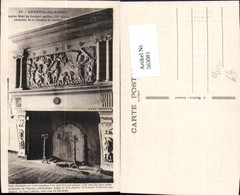 563081,Luxeuil-les-Bains Cheminee De La Chambre Du Cardinal Kamin Ofen Heizung - Ansichtskarten