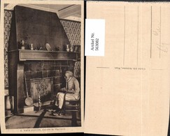 563082,Vieille Cheminee Costume De Maurienne Kamin Ofen Heizung - Ansichtskarten