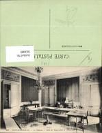 563089,Fontainebleau Le Chateau Salle Du Topographie De L Empereur Tisch Interieur Ei - Ansichtskarten
