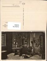563094,Eisenach Wartburg Lutherstube Kachelofen Schreibtisch Ofen Heizung - Ansichtskarten