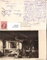 563104,Künstler Ak Van Ostade Le Repos Du Tisserand Webstuhl Interieur Einrichtung - Ansichtskarten