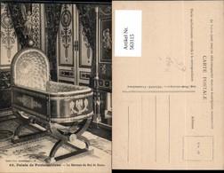 563115,Palais De Fontainebleau Le Berceau Du Roi De Rome Wiege Interieur Einrichtung - Ansichtskarten