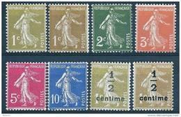 """FR YT 277A à 279B  """" Semeuse Camée """" 1932-37 Neuf** - 1906-38 Semeuse Camée"""