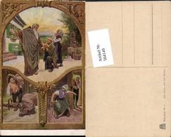 564149,Künstler AK Paul Hey Märchen Der Arme Und Der Reiche AK Nr 21 - Märchen, Sagen & Legenden
