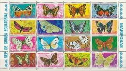 Equatorial Guinee  Vlinders - Vlinders