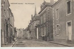 CPA - PRECIGNE - RUE PRINCIPALE - MALICOT - Other Municipalities