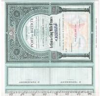 Ancienne Action Uncirculed - Compagnie Du Port De Bizerte - Tunisie -  Titre De 1890 - - Industrie