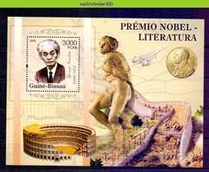 Nep094 NOBELPRIJS YASUNARI KAWABATA CONCORDE CHINESE WALL NOBEL PRIZE LITERATURE MICHEL 3189 GUINÉ-BISSAU 2005 PF/MNH - Nobelprijs