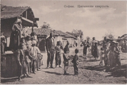 Bp - Cpa Bulgarie - SOFIA - Groupe De Gitans (format 8,5 X 12,5 Cm) - Bulgaria