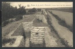 +++ CPA - Boyau De La Mort à DIXMUDE - DIKSMUIDE - A Droite Yser Et Abris Allemands - Guerre - Nels  // - Guerre 1914-18