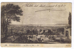 TOULON ANCIEN  LA VILLE ET LA RADE - Toulon