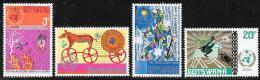 Botswana, Scott # 96-9 MNH Meteorological Cooperation, 1973 - Botswana (1966-...)
