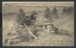 +++ CPA - Militaria - ARMEE BELGE - Mitrailleurs En Observation - Nels    // - Matériel