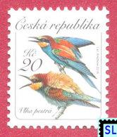 Czech Republic Stamps 2016, The European Bee-eater, Birds, Bird, MNH - Czech Republic