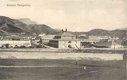 Pays Div -ref L536- Cap Vert -estacao Telegrafica - - Capo Verde