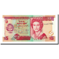Billet, Belize, 5 Dollars, 2009-07-01, KM:67d, NEUF - Belize