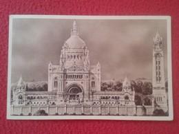 POSTAL POST CARD POSTCARD CARTE POSTALE FRANCIA FRANCE LA BASILIQUE DE LISIEUX VUE GÉNÉRALE DU PROJET VER FOTO/S Y DESCR - Francia