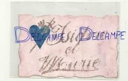 Isidore Et Marie. Paillettes. 1907 - Prénoms