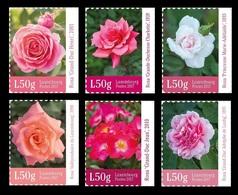 Luxembourg 2017 Mih. 2143/48 Flora. Flowers. Roses MNH ** - Ongebruikt
